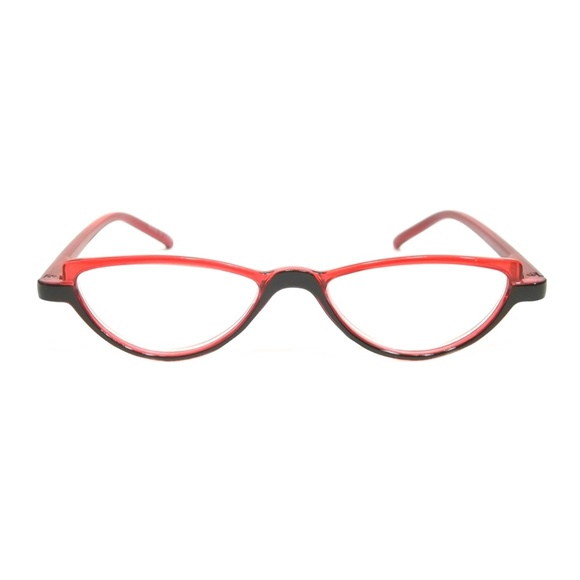 279be4e6f Cool Fashion Accessories | Cat Eye Reading Glasses Bella Classic Red ...